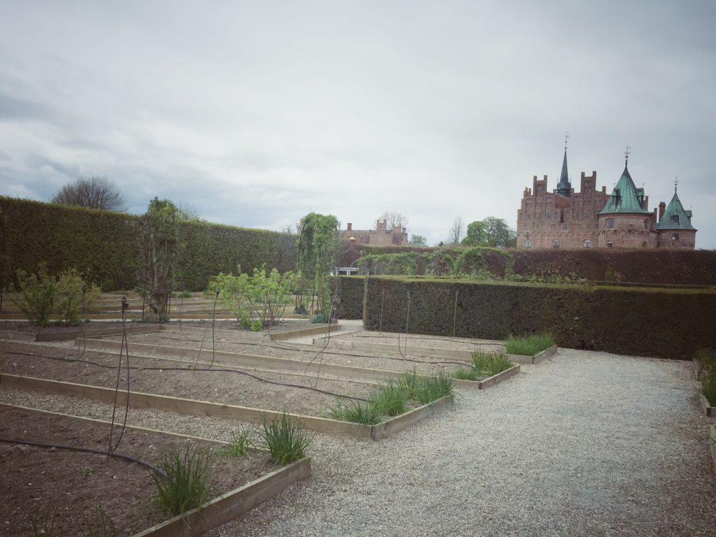 Egeskov Slot - Køkkenhaven